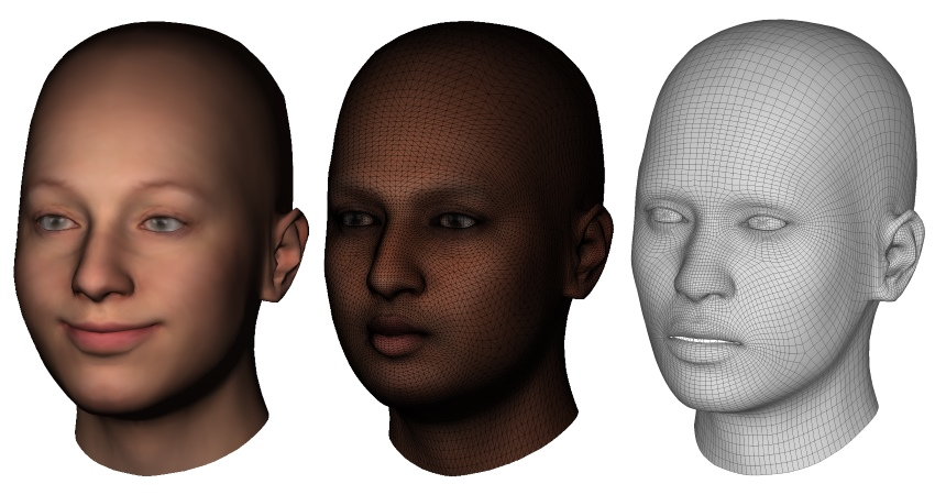 4dface – Face tracking and 3D personal avatar creation